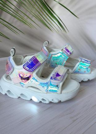 Босоножки, сандали с подсветкой