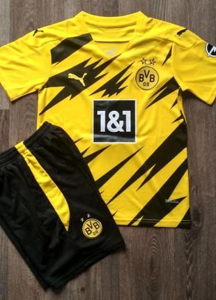 Детская футбольная форма боруссия дортмунд домашняя сезон 2020-2021