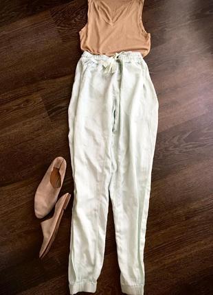 Кутюр, брюки deha,италия, высокая талия