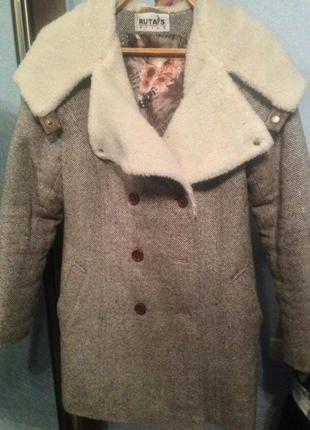 Шикарное пальто зимнее