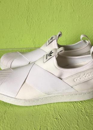 Кроссовки - слипоны adidas superstar s81338