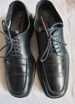 Мужские люкс туфли lloyd 41,5 р полностью мягкая натуральная кожа