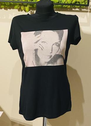 Чёрная футболка d&g