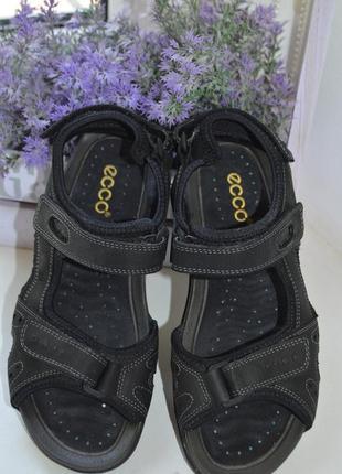 Кожаные сандалии ecco р. 37 по стельке 24 см