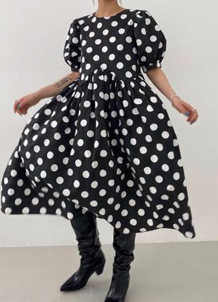 Платье свободного кроя (сток)