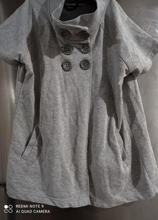Стильный трикотажный пиджачок okay 46-48р