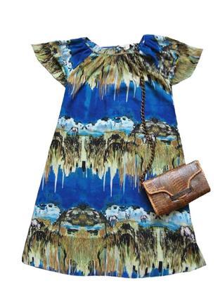 Сарафан платье с красивым принтом other stories cos