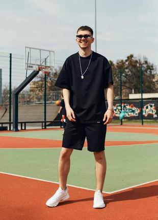 Спортивный костюм оверсайз на лето🌞футболка и шорты