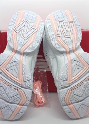 Шикарные кожаные белые кроссовки new balance 608 v1 оригинал5 фото