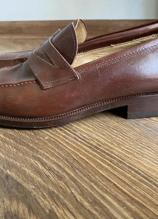 Bally туфли лоферы мокасины мужские размер 39,5, кожа 100%, оригинал