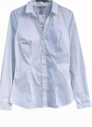 Белоснежная рубашка h&m