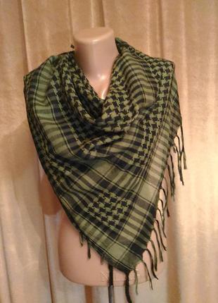 Арафатка шарф платок чёрно-зелёный, хаки