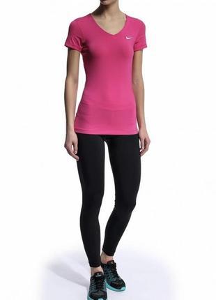 Женская спортивная футболка nike pro