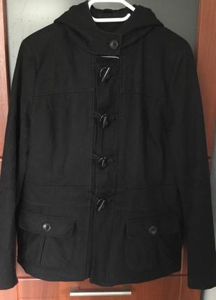 Стильная кашемировая куртка, полупальто большого размера - 16+ наш - 50-52