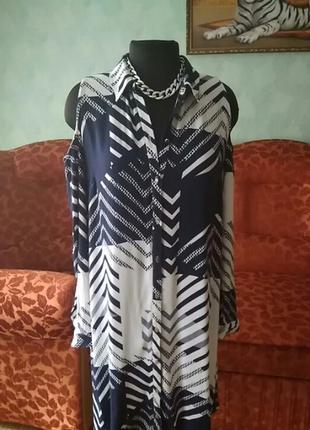 Акция!!!  платье - рубашка 46-48-50 рр
