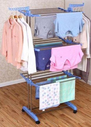 Сушилка для вещей складная сушилка для белья garment rack with wheels