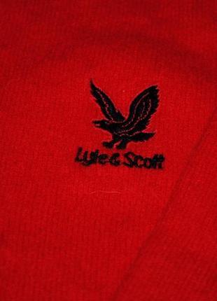 Свитер женский люкс яркий  красный шерсть pure 100% шерстяной4 фото