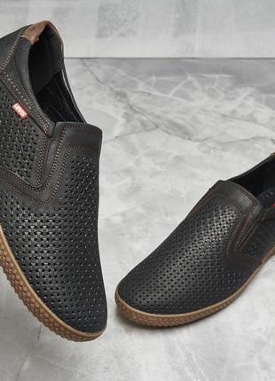 Туфли мокасины levis