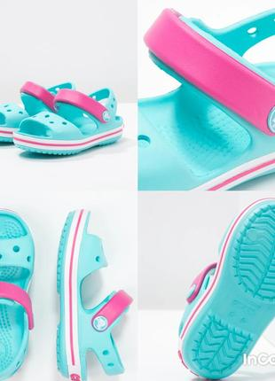 Crocs оригинал с6, c8, с9, с10, c13 босоножки crocs сандали крокс