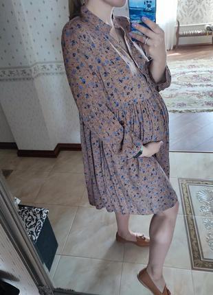 Платье коттон 👗 можно для беременных 🤎