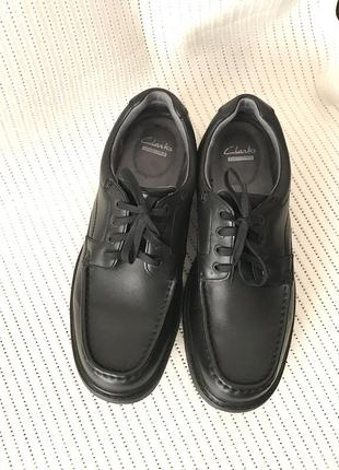 Кожаные туфли кожа