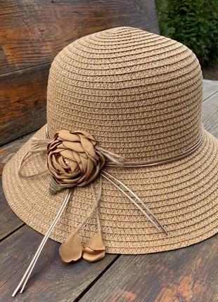 ❤❤красивейшие солнцезащитные шляпки цветок в расцветках