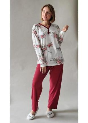 Распродажа! пижама туреская интерлок