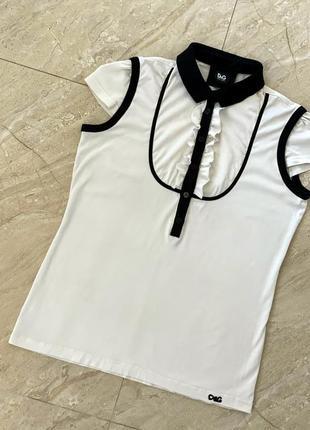 Футболка dolce & gabbana оригинал/кофта блуза dolce & gabbana/нарядная майка dolce gabbana