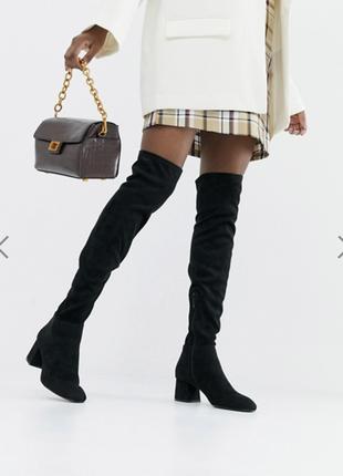 Stradivarius  ботинки сапоги по колено