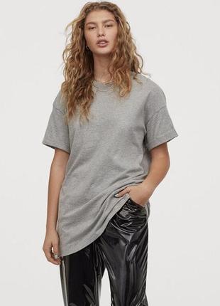 Удлиненная футболка h&m s