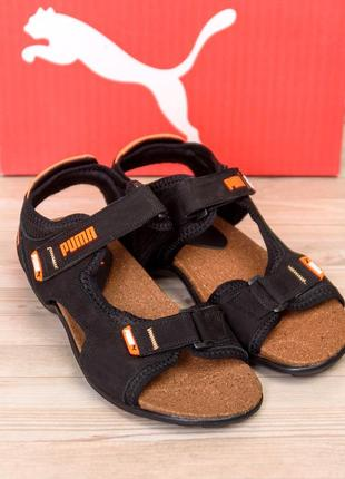 Мужские кожаные сандалии puma active(40-45р)