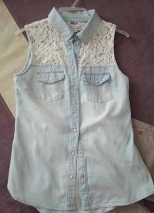 Рубашка - безрукавка (s)