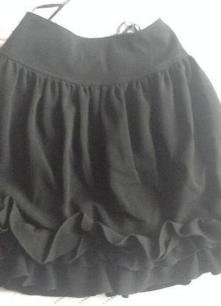 Школьная юбочка на резинке
