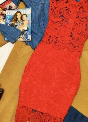 Кружевное сексуальное платье с молнией на спине