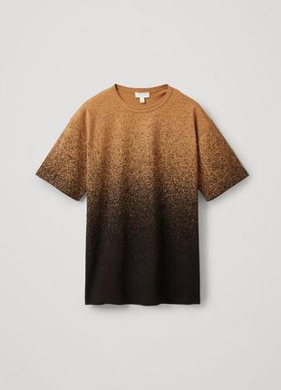 Cos футболка из органического хлопка мужская