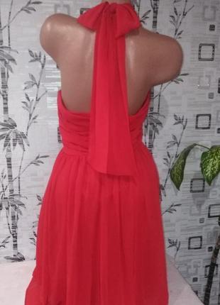 Эксклюзивное платье аsos, дорогой шифон+подкладка, р.16=48-50наш