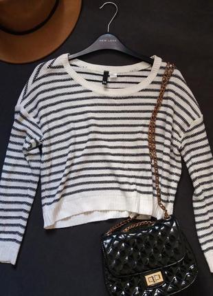 Короткий свитерок от h&m