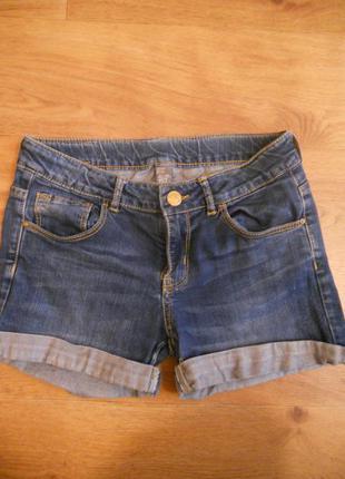 Классные джинсовые шорты zara