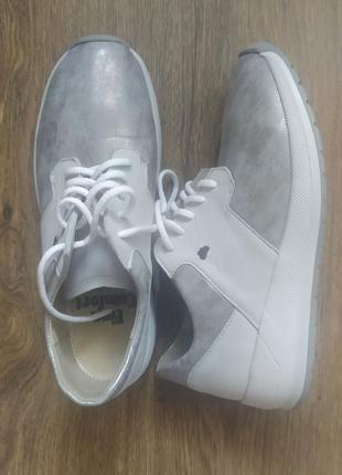 Кожаные кроссовки finn comfort германия