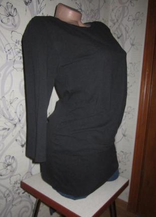 Хлопковая туника для беременной 46 м