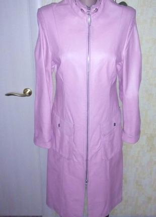 Тренч/кардиган /100 % натуральная  кожа/ кожаная куртка тренч/ плащ/куртка
