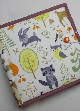 Развивающая книжка из фетра для детей