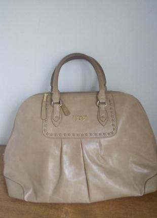 Кожаная сумка tosca blu оригинал