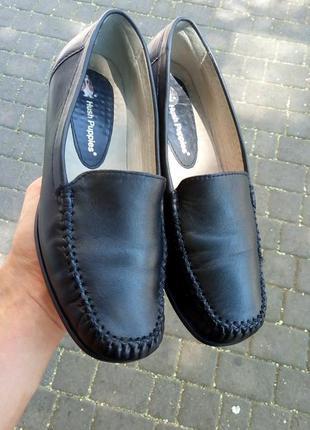 Фирменные туфли балетки кожаные hush puppies сша оригинал как ecco ... f0b2a992c30