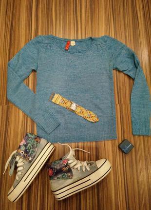 Тёплый но тонкий свитер джемпер
