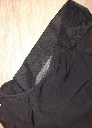 Утяжка 56 54 52 50 48 46 44 р трусы женское белье трусики высокие днепр черный бесшовные3 фото