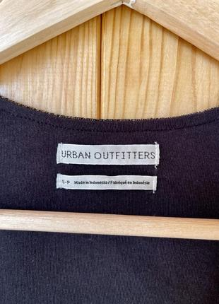 Urban outfitters золотой топ металлик полупрозрачный4 фото