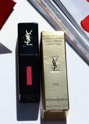 Yves saint laurent rouge pur couture vinyl cream lip stain