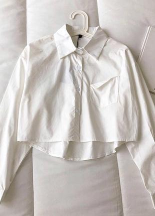 Рубашка-топ с длинным рукавом