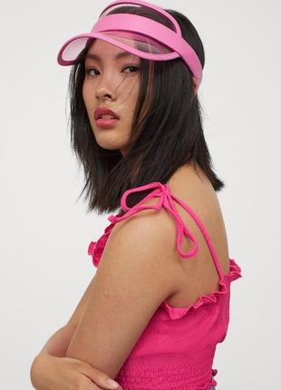 Новый комплект майка с кепкой h&m hm нм